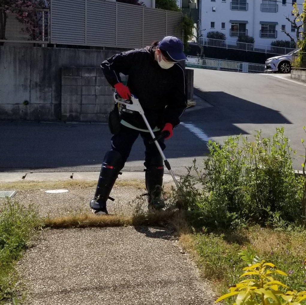 20200410 空き家管理 草刈り 草取り 除草作業 (3)