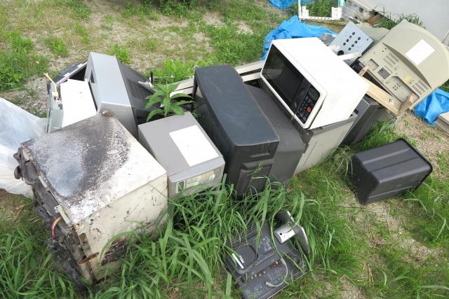 不法投棄の対策に空き家管理サービス