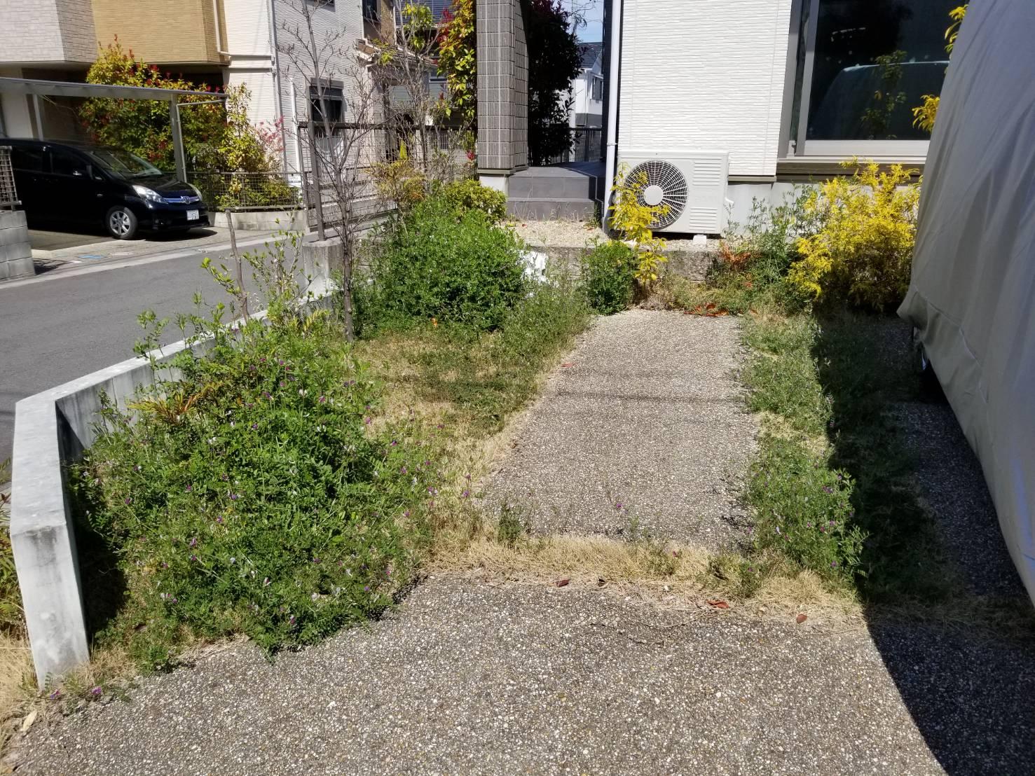 20200410 空き家管理 草刈り 草取り 除草作業 (4)