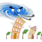台風や強風