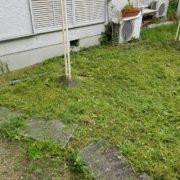 名古屋市名東区の空き家管理 草刈り 作業後