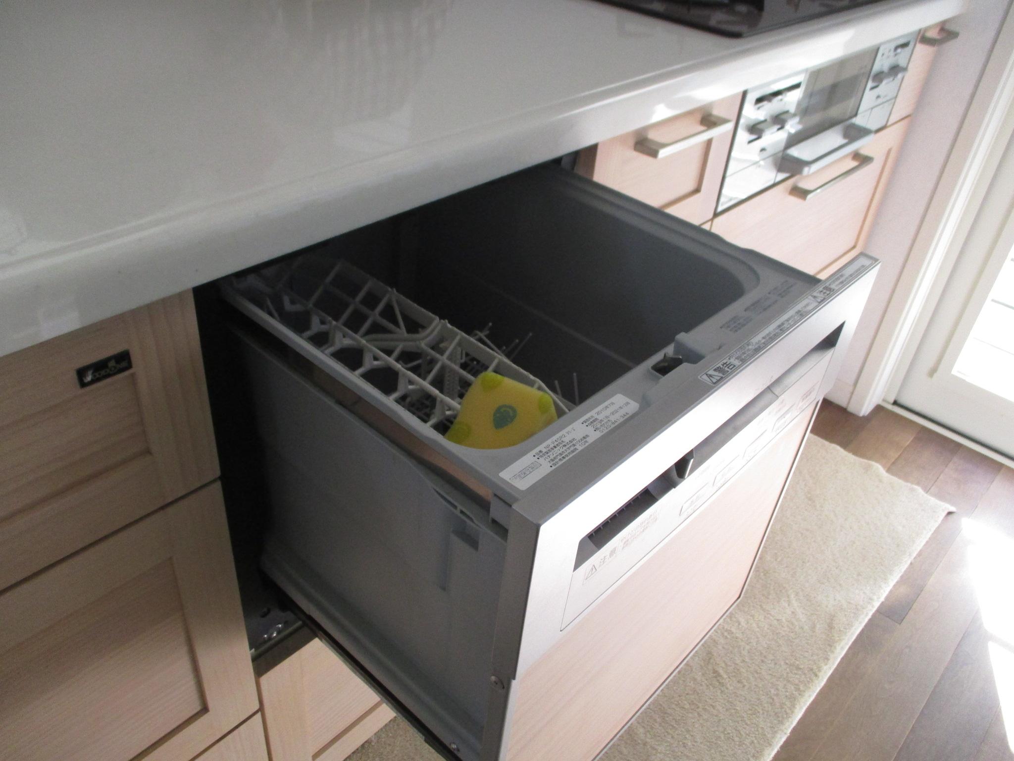 食洗器・通水作業