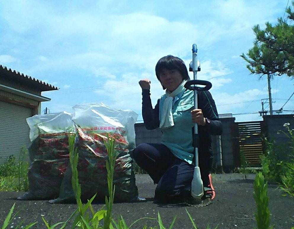 田中さん 清掃