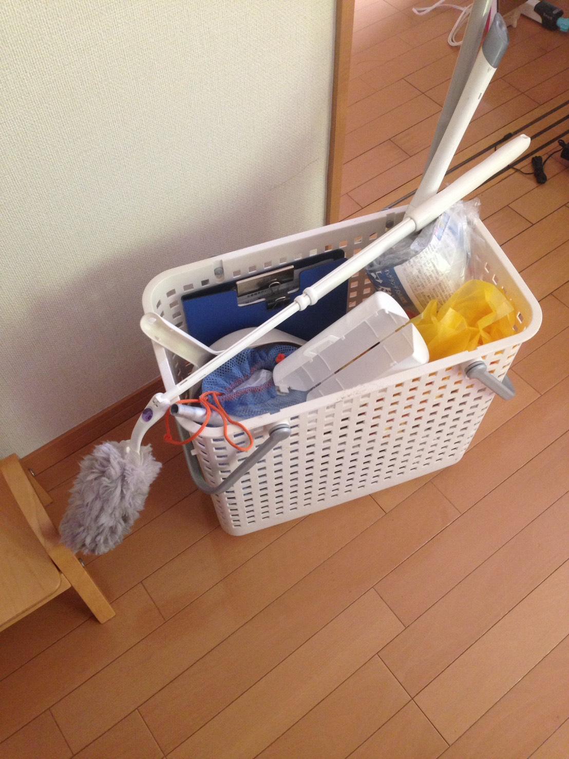 お部屋の清掃