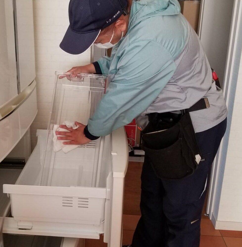 リクエスト作業 冷蔵庫内の清掃 (1)
