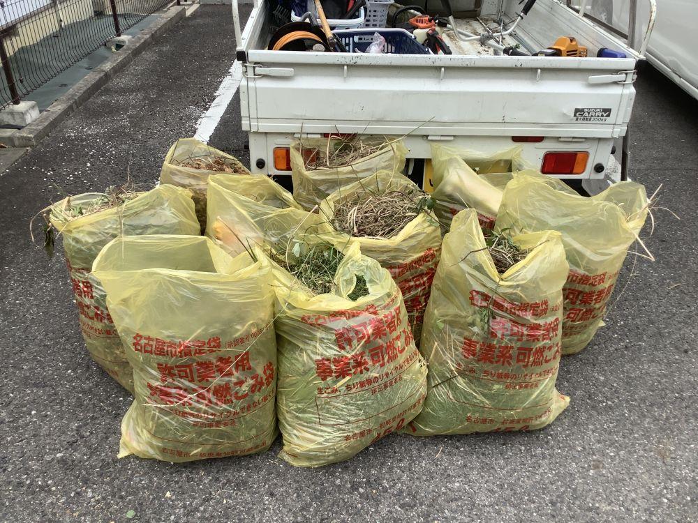 空き家管理 防草シート 除草剤 草刈り  (5)