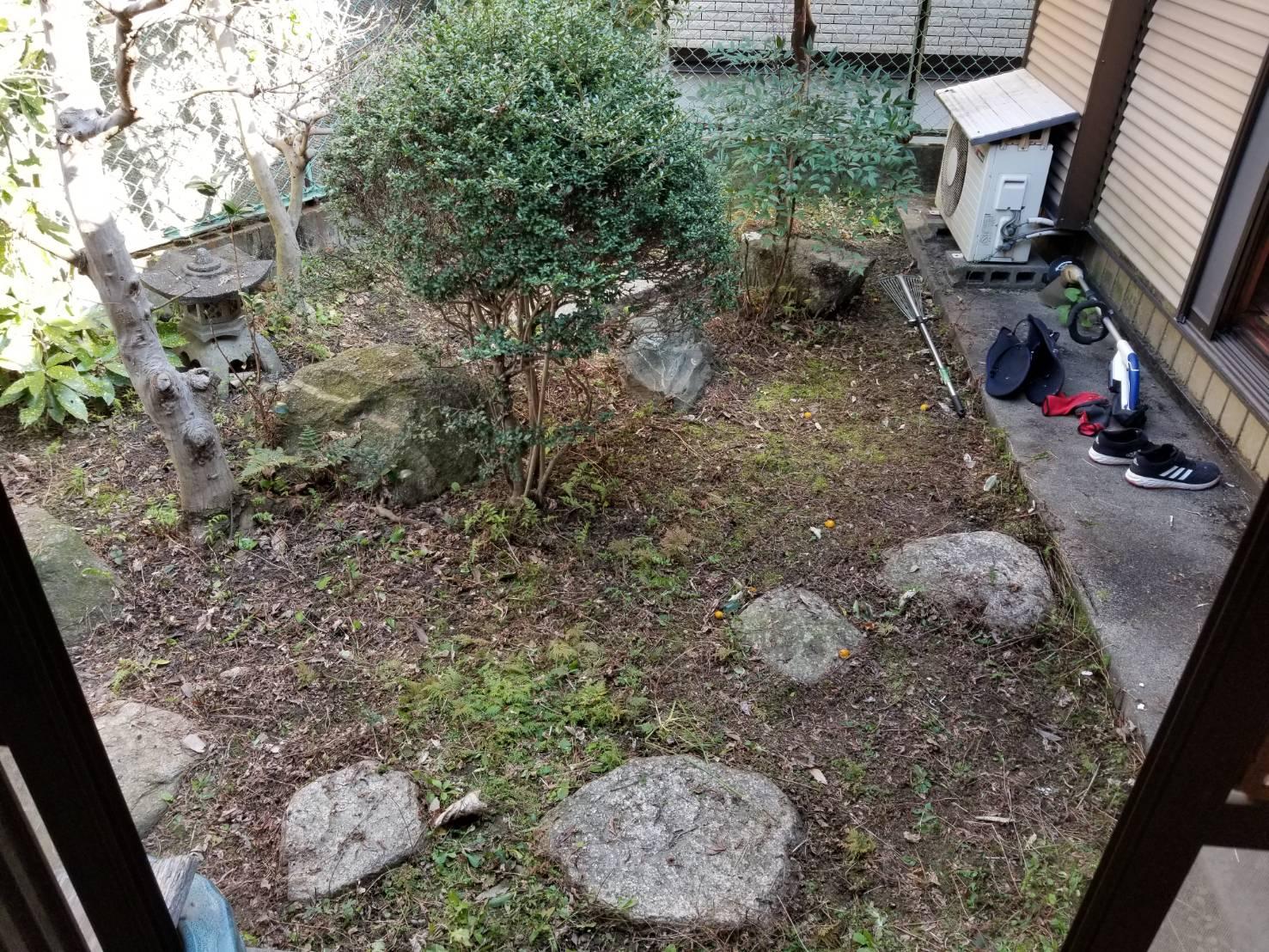 名古屋市西区 空き家管理 除草作業 (5)